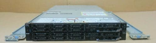 Dell PowerEdge FX2S Switched Rackmount Chassis + 2x FC830 Blade Node CTO Servers